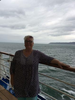 Lorraine Thomas spent the second half her cruise to New Zealand sick with gastro. Picture: Lorraine Thomas