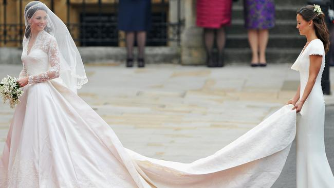 Pippa gained worldwide attention as Kate's bridesmaid at her 2011 wedding to Prince William.