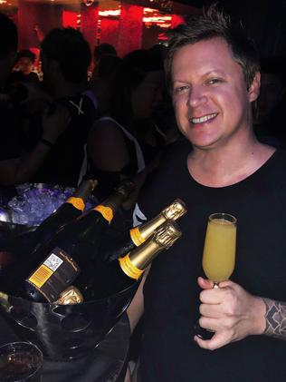 Mr Neat, whose stage name was Adam Sky, died at a luxury Balinese villa. Picture: Facebook
