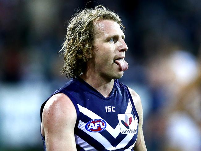 David Mundy had the chance to win the game for Fremantle. Picture: Wayne Ludbey