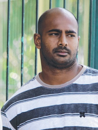 On the inside ... Myuran Sukumaran, in front of his cell at Kerobokan prison in Bali, Indonesia in 2011. Pic: AP Photo/Firdia Lisnawati
