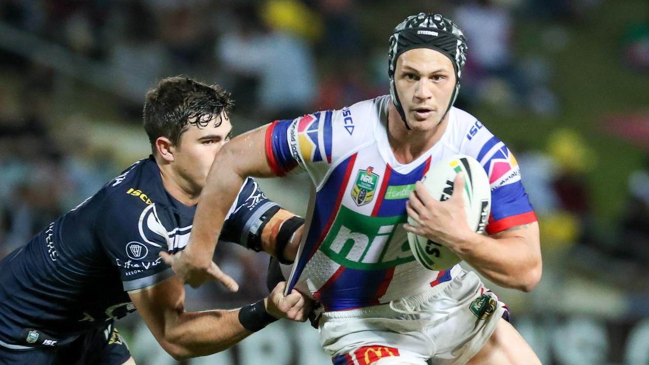 Kalyn Ponga has been awarded The Players' Champion award. (AAP Image/Michael Chambers)