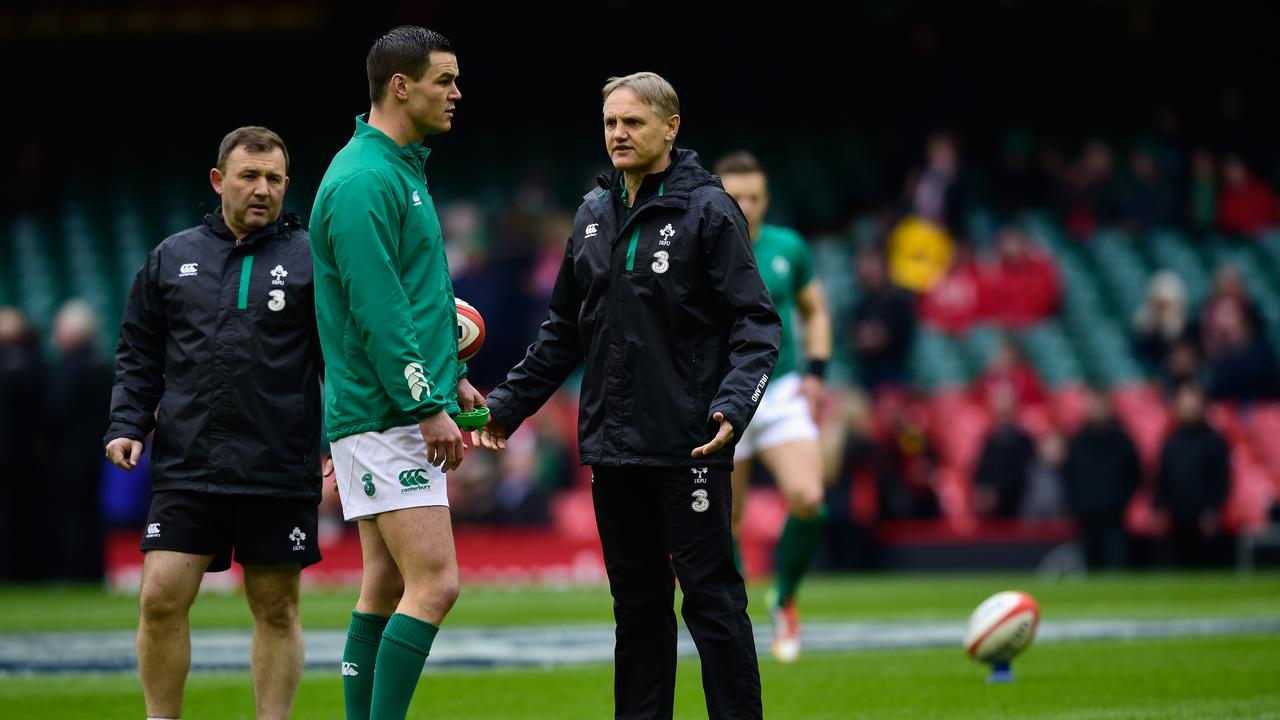 Ireland coach Joe Schmidt has left Johnny Sexton on the bench for the first Test.