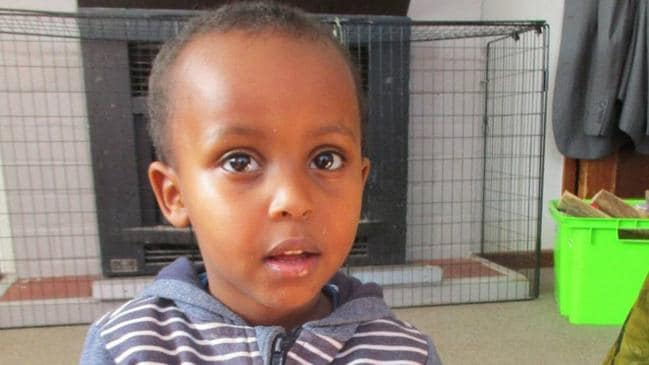 Three-year-old Mucad Ibrahim is the youngest victim of the mosque terrorist attacks.