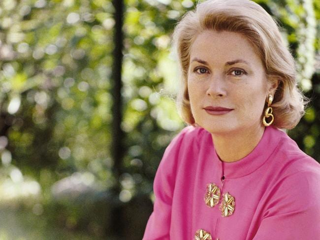 Princess Grace of Monaco pictures four years before her death. Picture: Epi Bazzoli