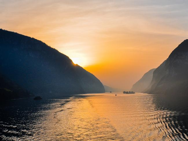 Sail the Yangtze River with Wendy Wu Tours. Picture: iStock
