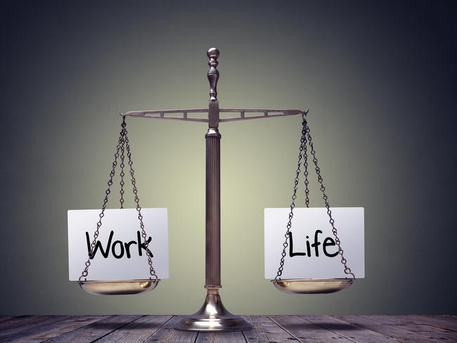 Finding a work and life balance is important. Picture: istock