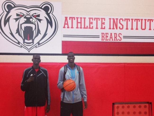 Matur and Thon Maker recently moved to Canada.
