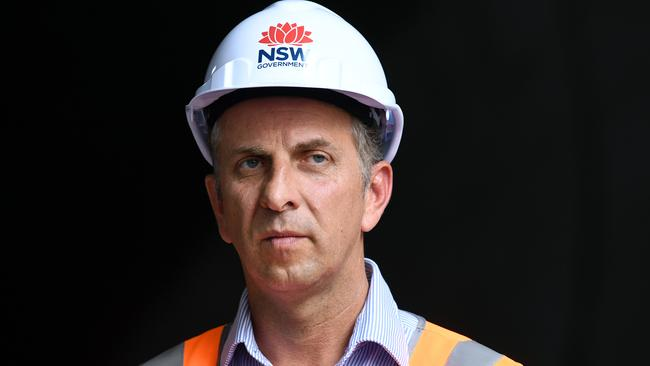 Minister for Transport and Infrastructure Andrew Constance says Labor can't be trusted on transport. Picture: AAP Image/Joel Carrett