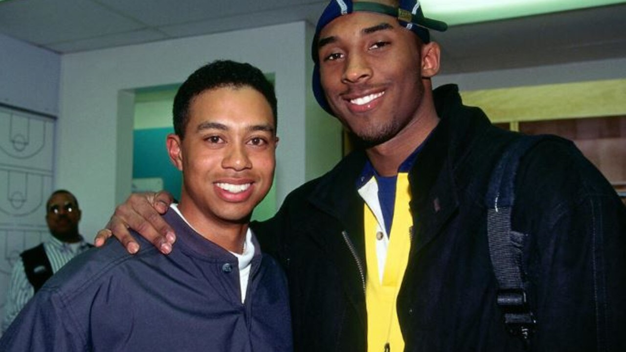 "Tiger Woods says the death of Kobe Bryant is ""one of the more tragic days""."