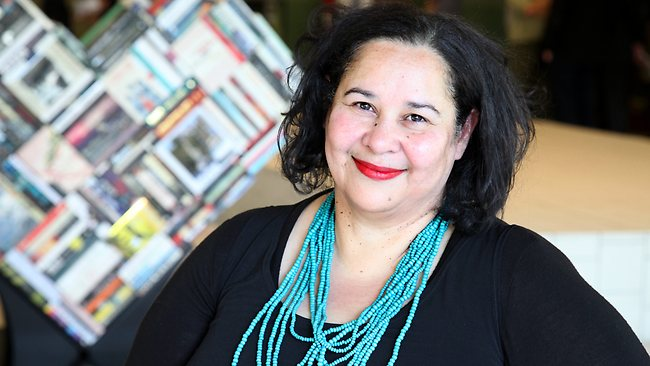 WINNER: Siv Parker won The David Unaipon Award for unpublished indigenous writer for her manuscript Story, about contemporary Aboriginal life in a fictional small town. Picture: Liam Kidston