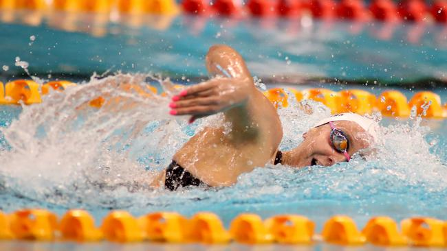 Ariarne Titmus has a bright future in the pool. Picture: AAP