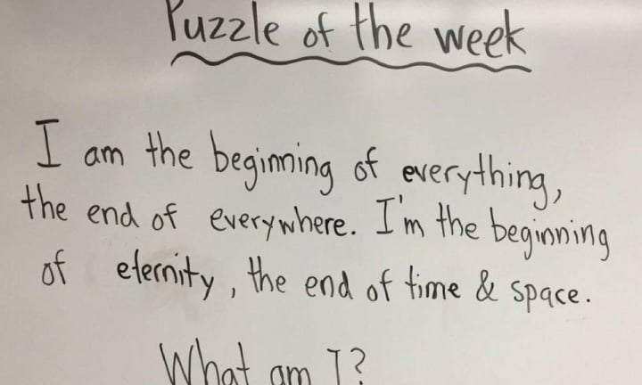 Philosophical riddle: Student wows teacher with answer, but could