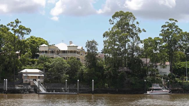 Among suburbs in the elite list is Hawthorne, where Australia's richest woman Gina Rinehart owns this stunning property.