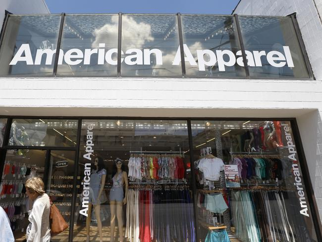 American Apparel is well known for its provocative advertising.