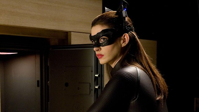 A stuntwoman for Catwoman Anne Hathaway was injured during the filming of The Dark Knight Rises.