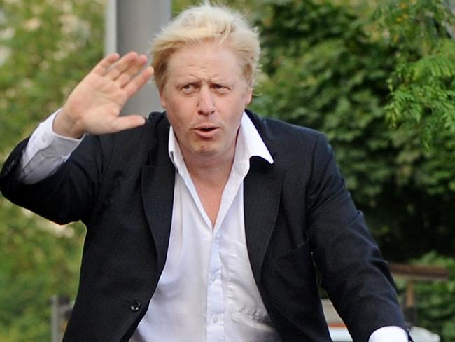 Bookmakers have Boris Johnson riding into the top job ahead of a large field of candidates. Picture: AFP