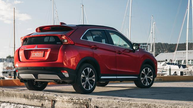 The Eclipse Cross has sharp looks.