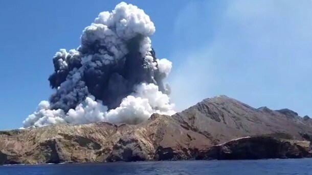 Some tourists say they were not warned of the dangers on White Island. Picture: Allessandro Kauffmann.