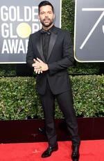 Actor/singer Ricky Martin attends The 75th Annual Golden Globe Awards at The Beverly Hilton Hotel on January 7, 2018 in Beverly Hills, California. Picture: Frazer Harrison/Getty Images/AFP