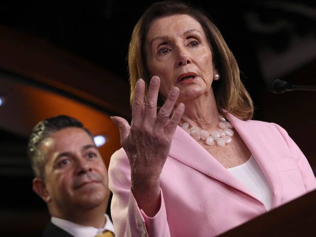 Impeachment calls are growing among Democrats like Nancy Pelosi.