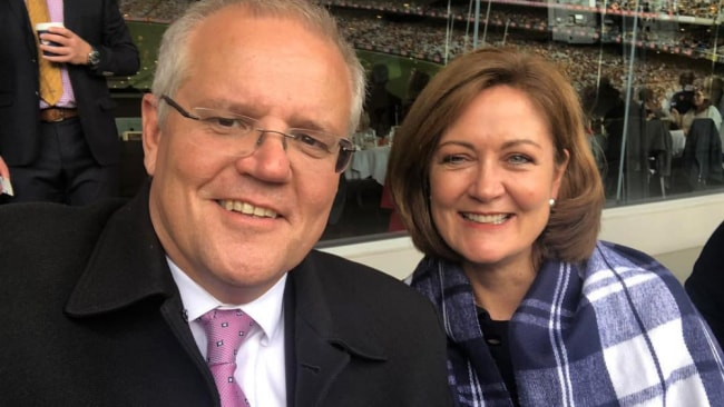 Sarah Henderson had the support of the PM. Source: Instagram/sarahhendersonmp