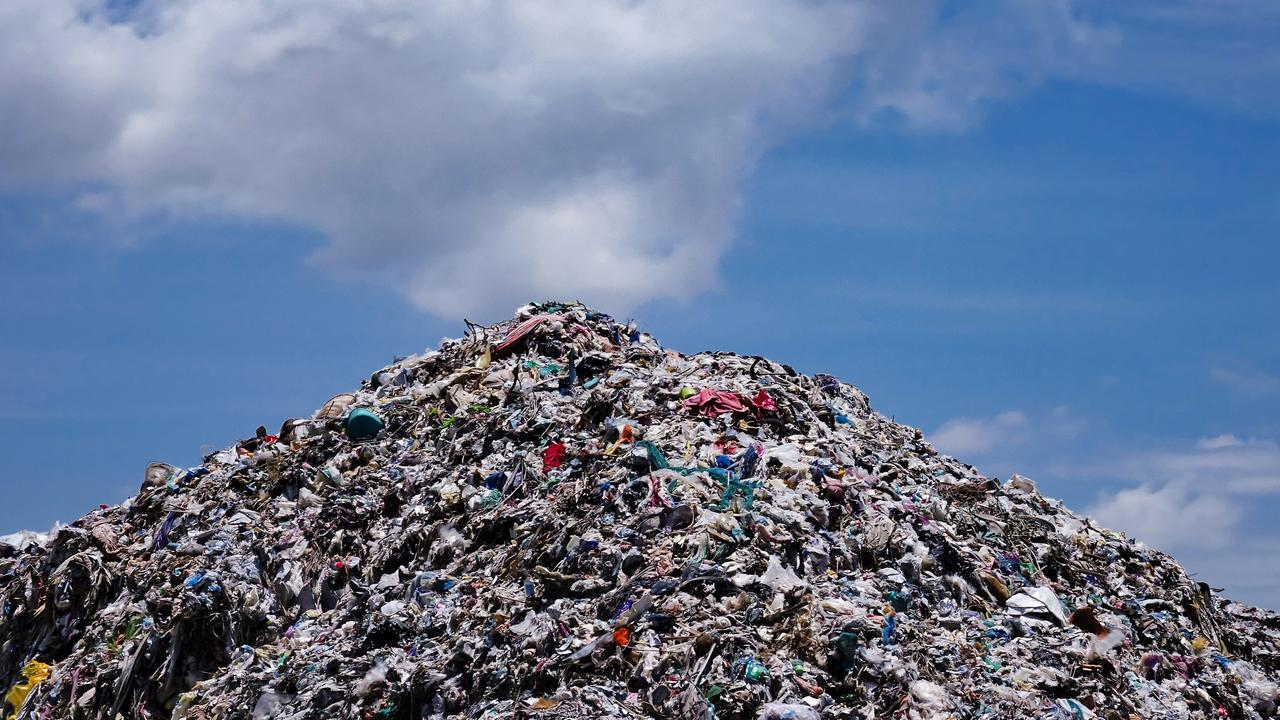 Rubbish piled up in landfill. Picture: iStock