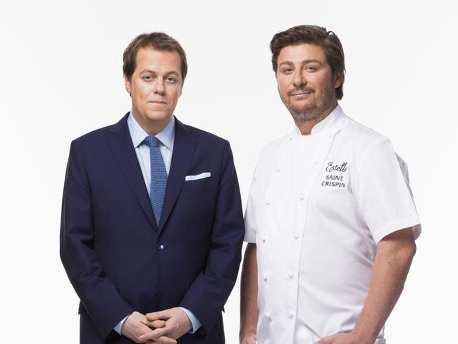 Tom Parker Bowles and Scott Pickett have teamed up for Nine's The Hot Plate.