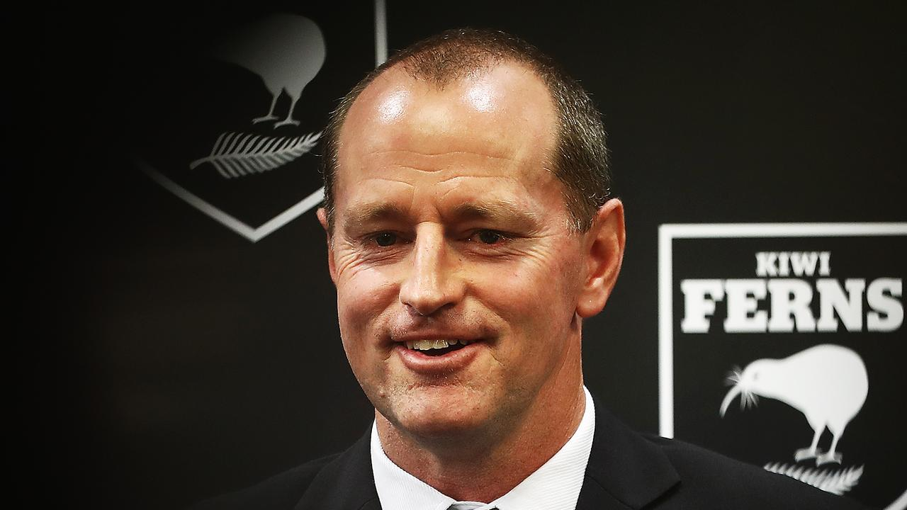 Kiwis coach Michael Maguire has turned down the Manly job.