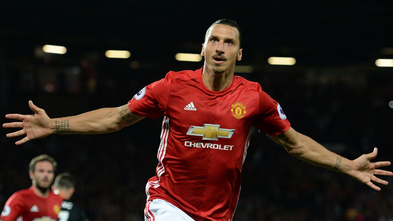 Ibrahimovic appeared to reveal the identity of his new club with an Instagram post