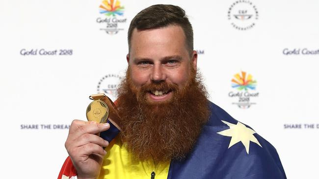 Daniel Repacholi plans to retire from shooting after his Commonwealth Games win. Picture: Phil Walter/Getty Images