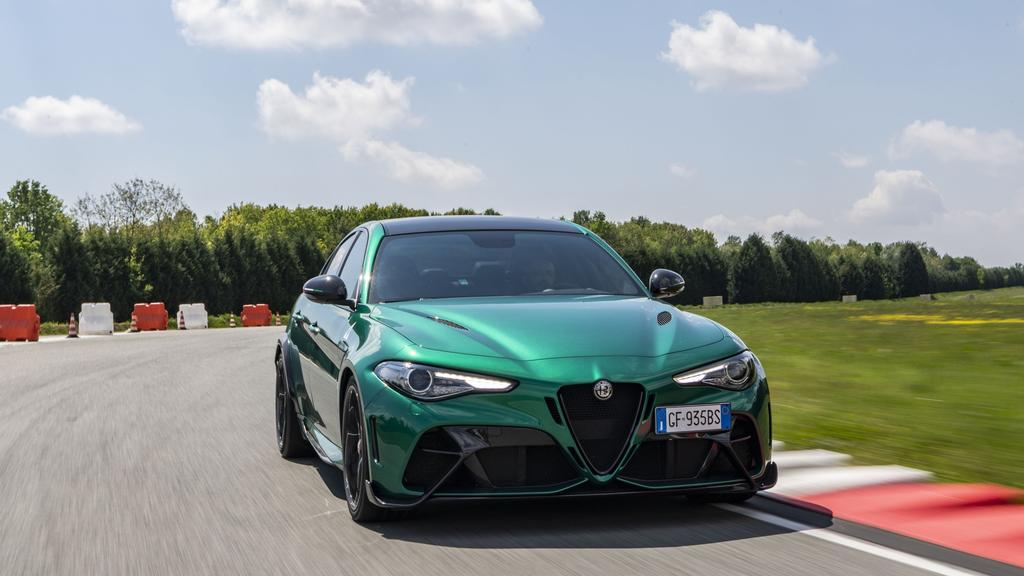 Alfa Romeo expects customers to take their cars on track.