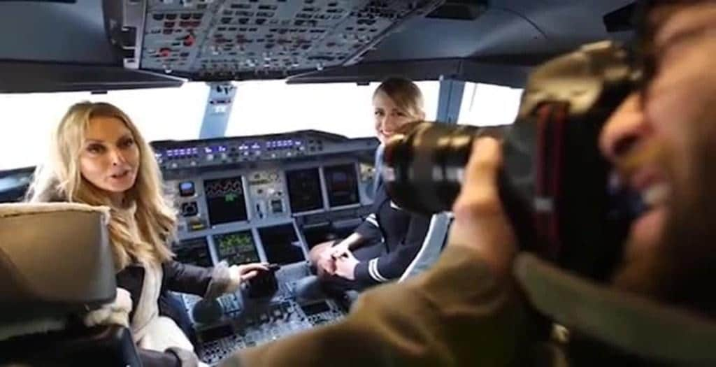 British Airways and veteran media personality Carol Vorderman call for more female pilots