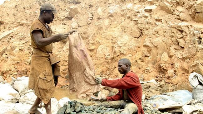 When it comes to monitoring where their cobalt comes from, some companies do a better job than others. Picture: Kenny Katombe / Reuters