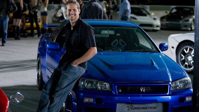 Paul Walker played Brian in Fast and the Furious before his untimely death.