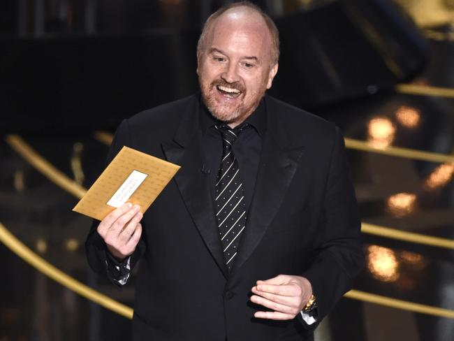 "Louis C.K. presents his ""favourite"" category."