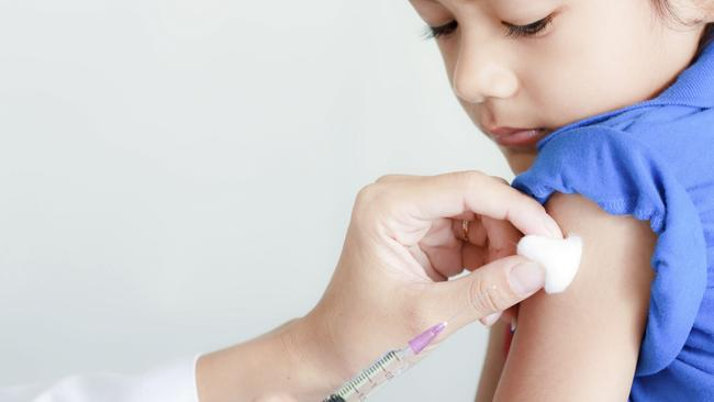 An April Galaxy Poll found 86 per cent of all Australians wanted childhood vaccination to be forced. Picture: Sura Nualpradid