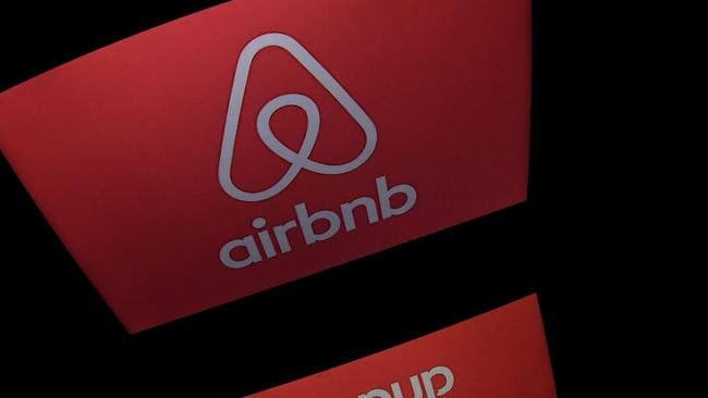 Online short-term rental accommodation service Airbnb. Photo: AFP/Lionel Bonaventure.