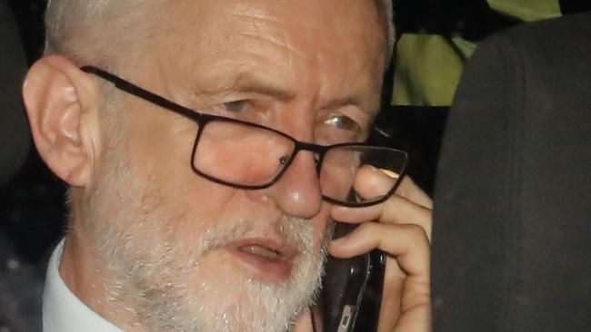 Britain's main opposition Labour Party leader Jeremy Corbyn. Picture: AP
