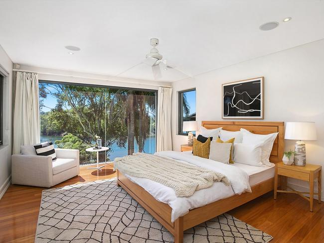 Many rooms have views of the Lane Cove River.
