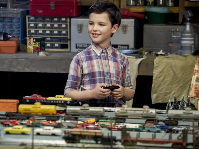 Iain Armitage as Young Sheldon. Picture: Channel Nine