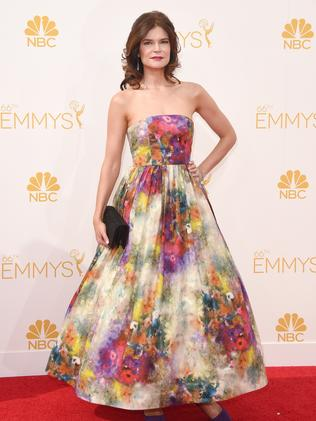 Betsy Brandt attends the 66th Annual Primetime Emmy Awards.
