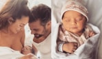 Sam and Snezana Wood welcome their daughter, Charlie Lane Wood.