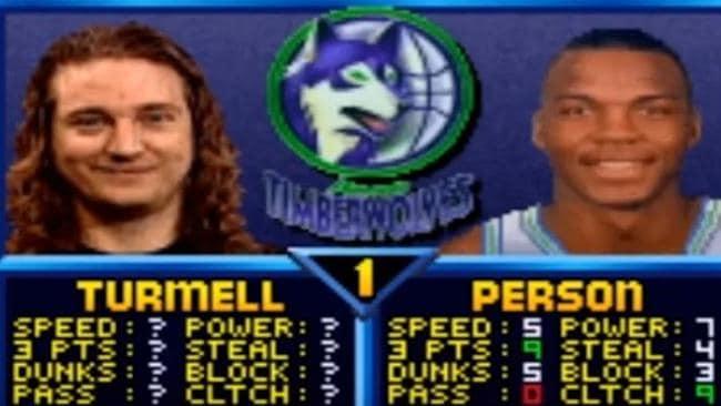 Mark Turmell's secret character was a beast.