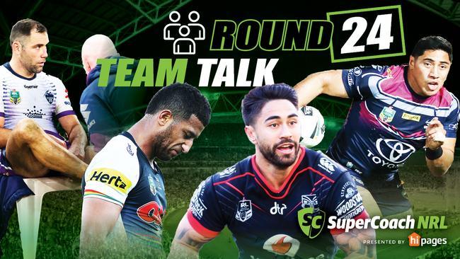 Round 24 NRL teams.