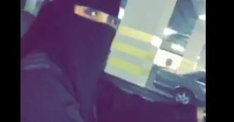 Saudi Woman Takes the Wheel as the Kingdom Allows Women to Drive. Credit - Twitter/T_3Z via Storyful