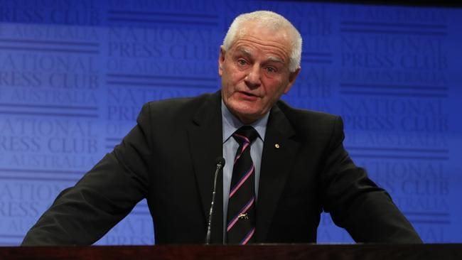 Former AFP commissioner Mick Palmer said: 'Our drug laws are hurting people and our leaders know it'.