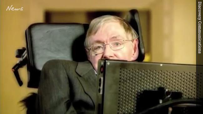 Stephen Hawking throws a time traveller party