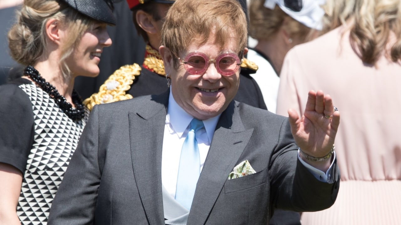 Clooney, Oprah, Elton John and more celebrities watch royals marry