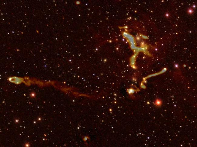 The international team behind the unprecedented space survey said their discovery literally shed new light on some of the Universe's deepest secrets, including the physics of black holes and how clusters of galaxies evolve.